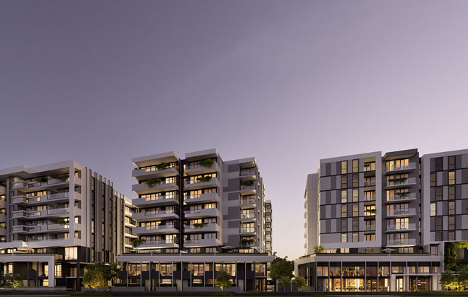 The Grove apartment development